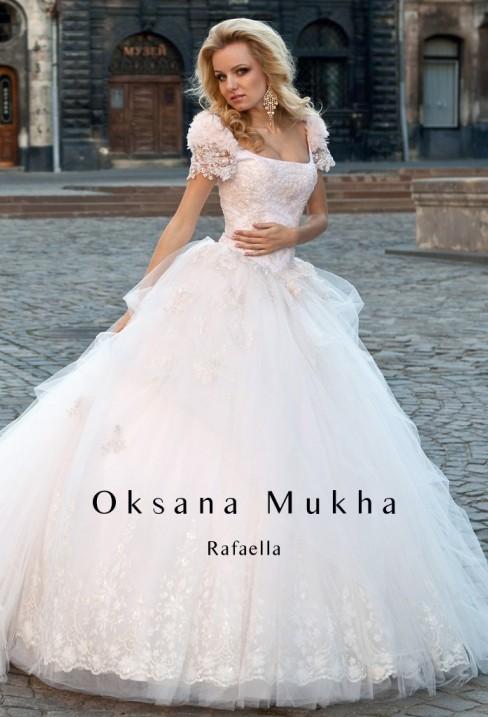 Весільна сукня від Оксани Мухи Рафаелла - Весільний каталог Girko.net 84fa2e0954093