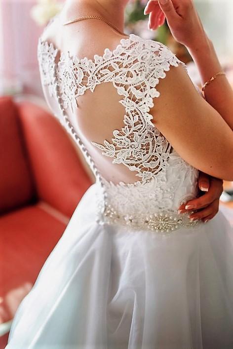 9ef43cec1be2b1 Продам дуже ніжну весільну сукню! - Весільний каталог Girko.net
