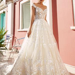 69b2538a262bcc Продам весільну сукню Crystal Eva Lendel Perry - Весільний каталог ...