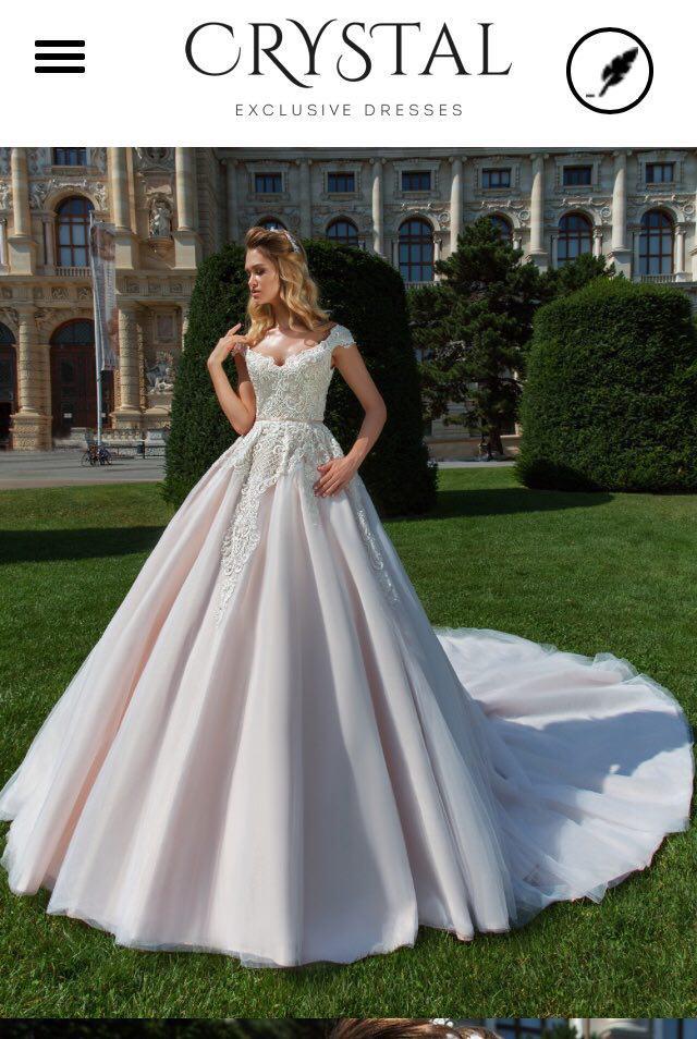 42b3ec07db0f4a Весільна сукня Crystal Anika - Весільний каталог Girko.net