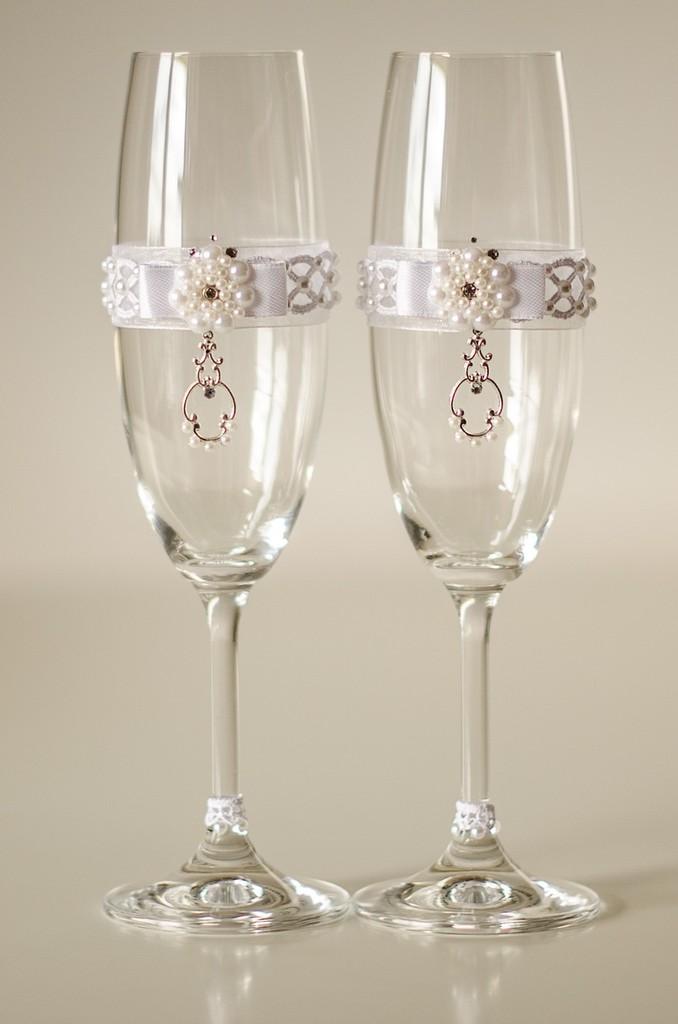 ce042251458feb Весільні бокали ручної роботи - Весільний каталог Girko.net