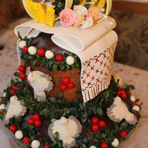 6ba15ce36a991f Весільний коровай - Свадебный каталог Girko.net