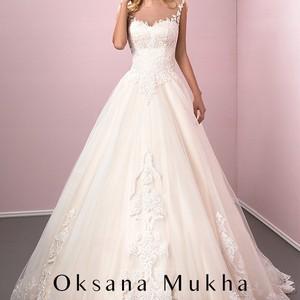 a134f6993f4d1d Весільна сукня від Оксани Мухи Veronika - Весільний каталог Girko.net